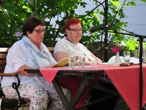 Anni Mathes und Jette Dünser