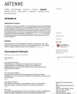 1994 - 2019 Homepage